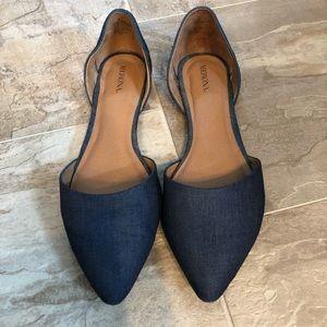 Women's Merona Pointed Toe Flats - Size 11